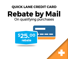 Rebate by Mail 25