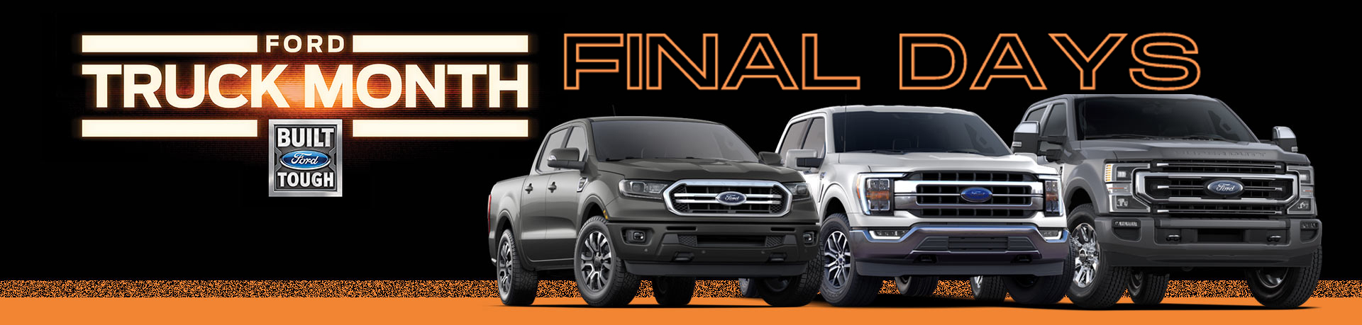 Doggett Ford New Dealership Truck Month Final Days