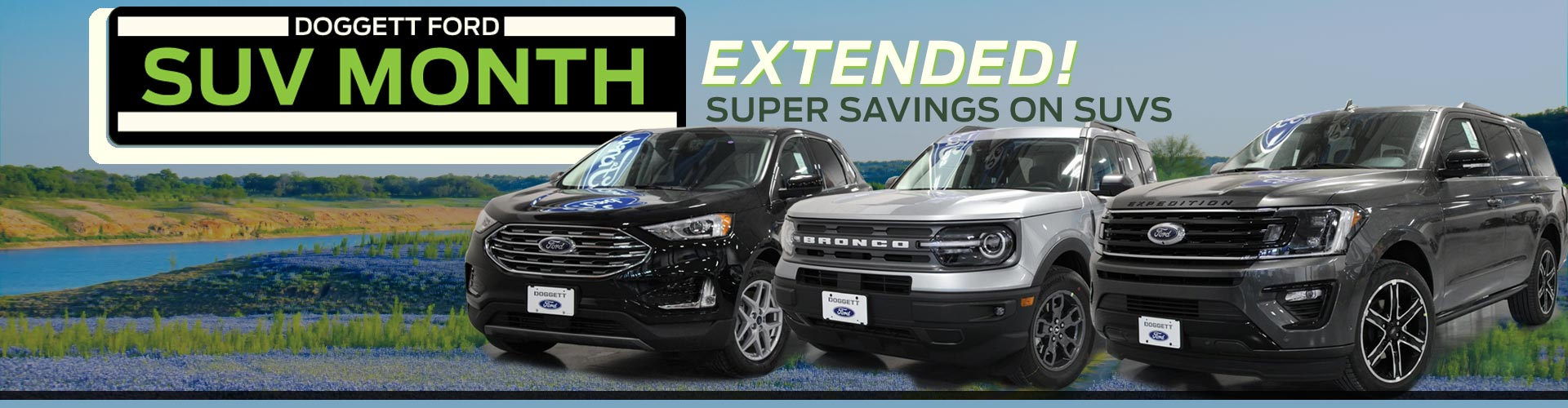 Suv Month Super Savings Wide May Hero Green Extended Doggett Ford Lp 1920w