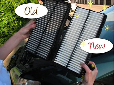 Know when to change your air filter
