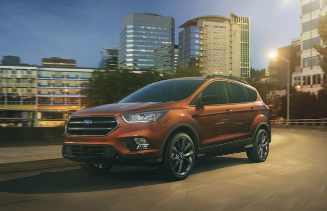 2017 Ford Edge Titanium >> The 2018 Ford Escape Offers An Upscale Interior & Lots Of ...