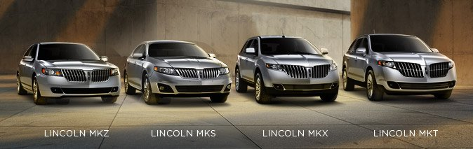 Lincoln Vehicle Lineup
