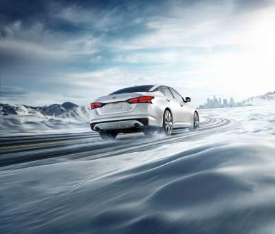 Nissan Altima Snow