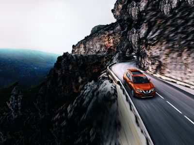 Nissan Rogue Mountain Road