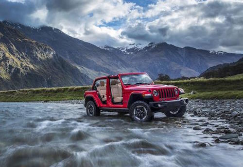 2018 Jeep Wranger Water Forging