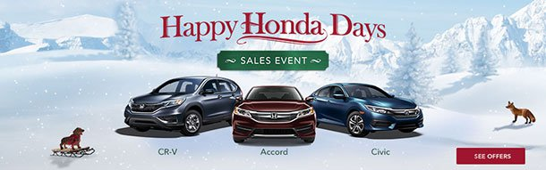 Happy Honda Days U2013 Honda Lease Specials Near Atlanta, GA