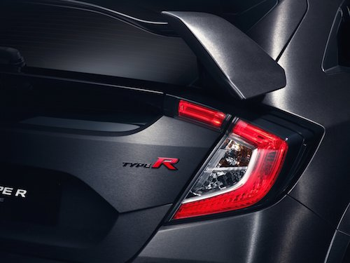 Honda Civic Type R Prototype Badge
