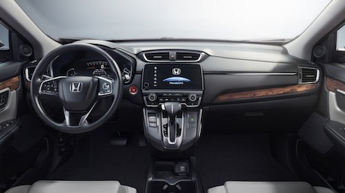 2017 Honda CR-V Center Console