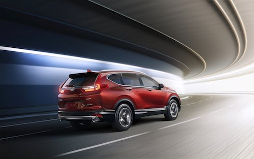 2017 Honda CR-V Red