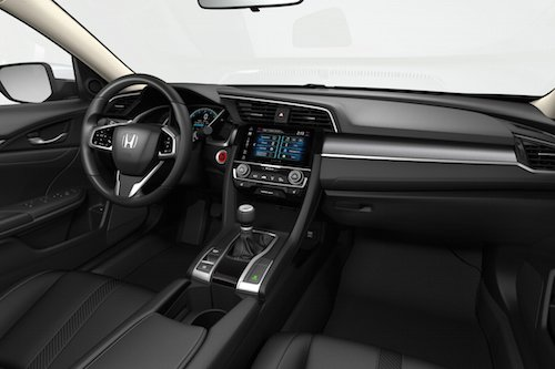 2017 Honda Civic Sedan Interior