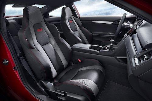 Honda Civic Si Logo Seats