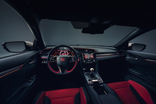 2017 Civic Type R Console
