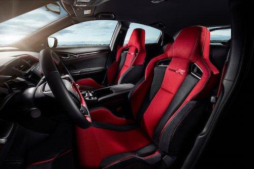 2017 Civic Type R Seats