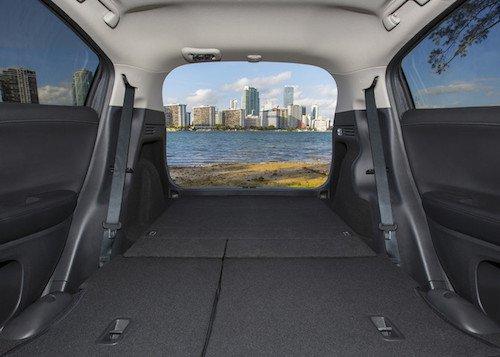 2017 Honda HR-V Cargo Area
