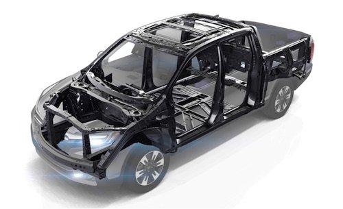 Honda Ridgeline Body Structure