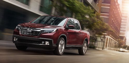 2017 Honda Ridgeline North American Truck Of Year