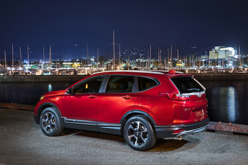 2018 Honda CR-V Profile
