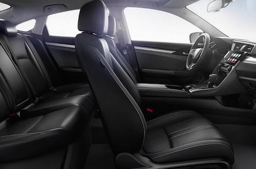 2018 Honda Civic Sedan Interior