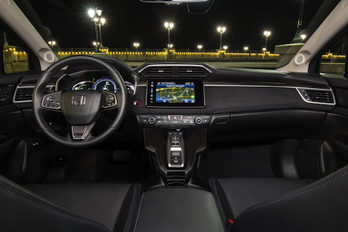 2018 Honda Clarity Plug-In Hybrid Dash