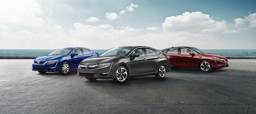 2018 Honda Clarity Models