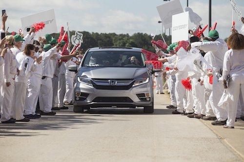 2018 Honda Odyssey at HMA