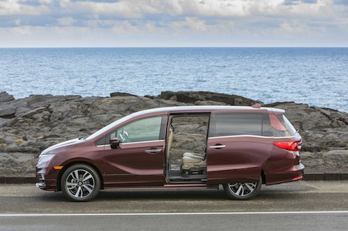 2018 Honda Odyssey Sliding Doors