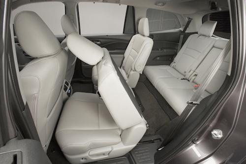 Honda Pilot Sliding Seat