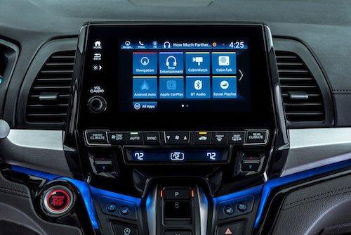 Honda Odyssey Display