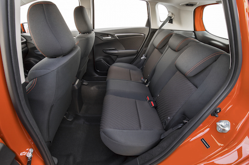 2019 Honda Fit Backseat