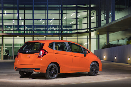 2019 Honda Fit Profile