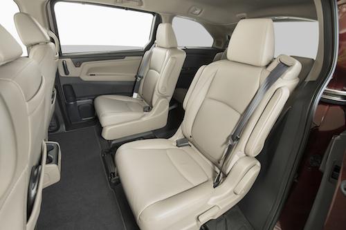Honda Odyssey Seating