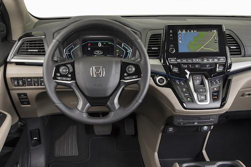 2019 Honda Odyssey Dash