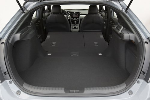 Honda Civic Hatchback Cargo