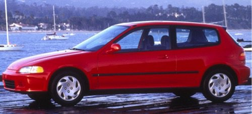 Honda Civic CRX 2-Door Hatch