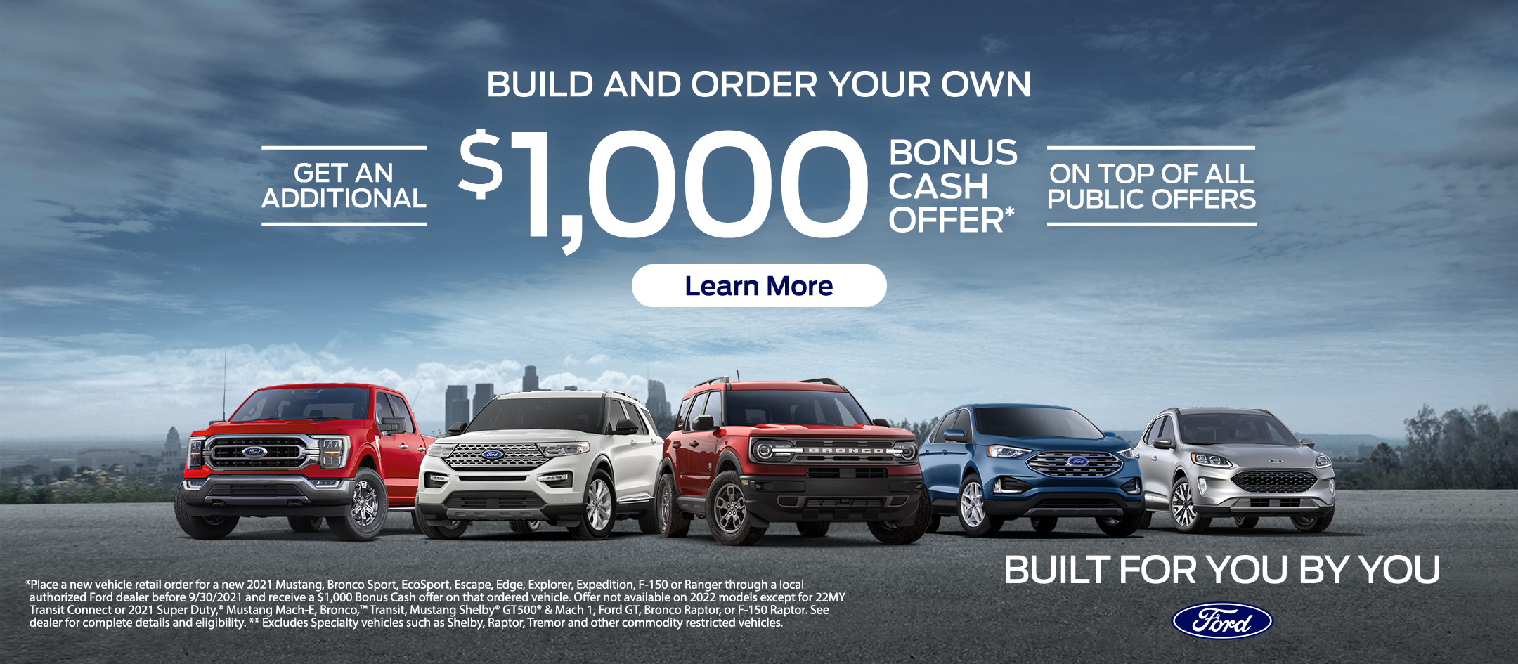 Order Your Ford Your Way
