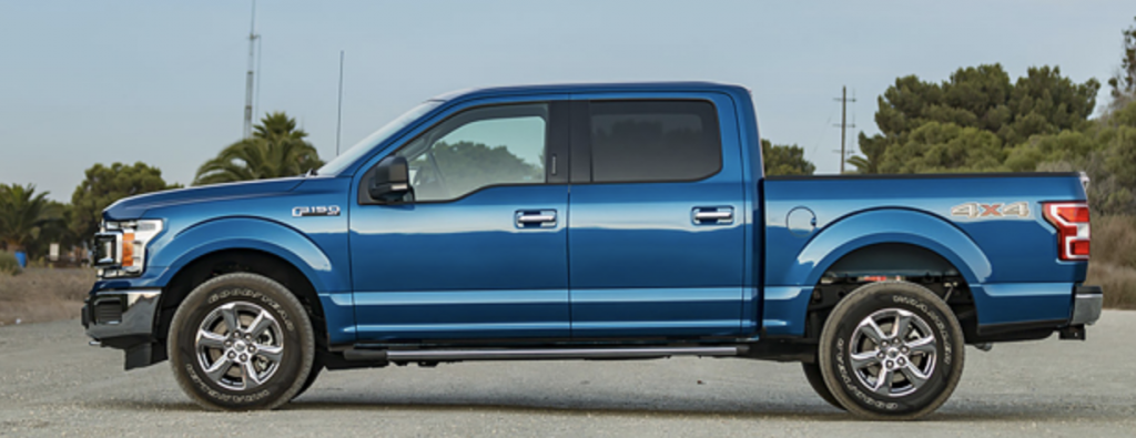 Side View of Ford F-150