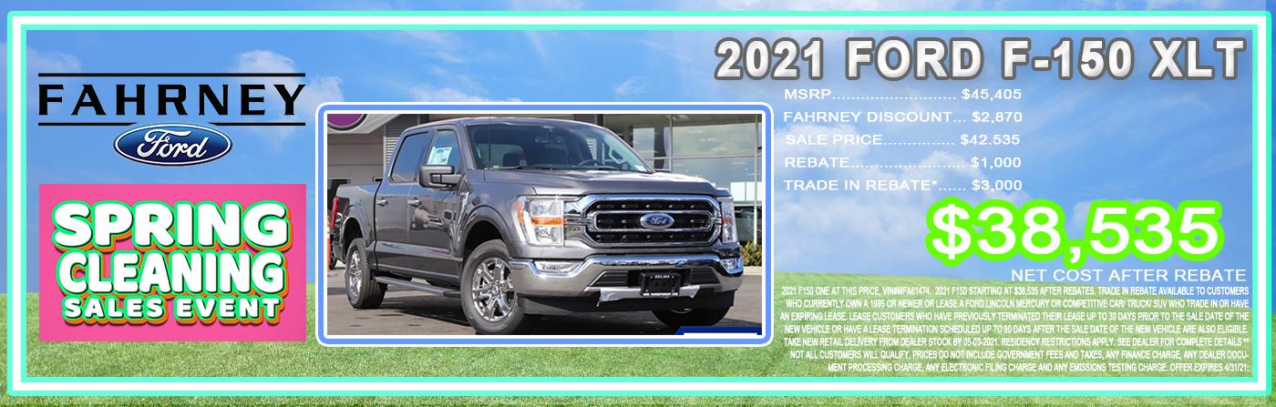Website Banner Ford April