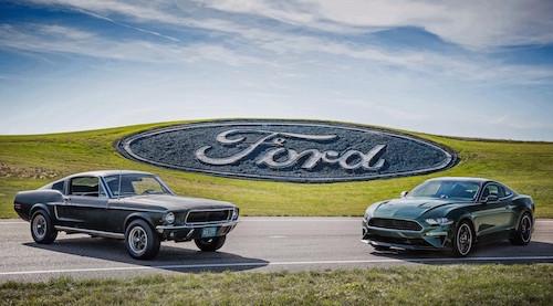 Ford Bullitt Mustangs
