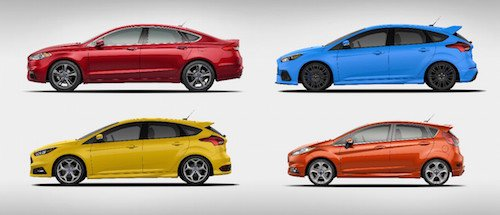 New Ford Sport Models