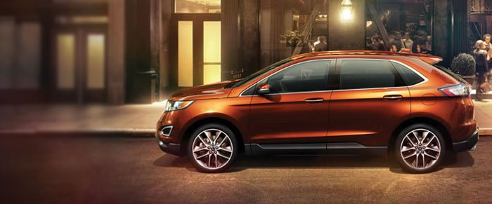 We Are Proud To Offer The New Ford Edge Near Dallas Tx This Sporty Suv Is Loaded With Convenient Features A Hands Free Liftgate And Reclining   Rear