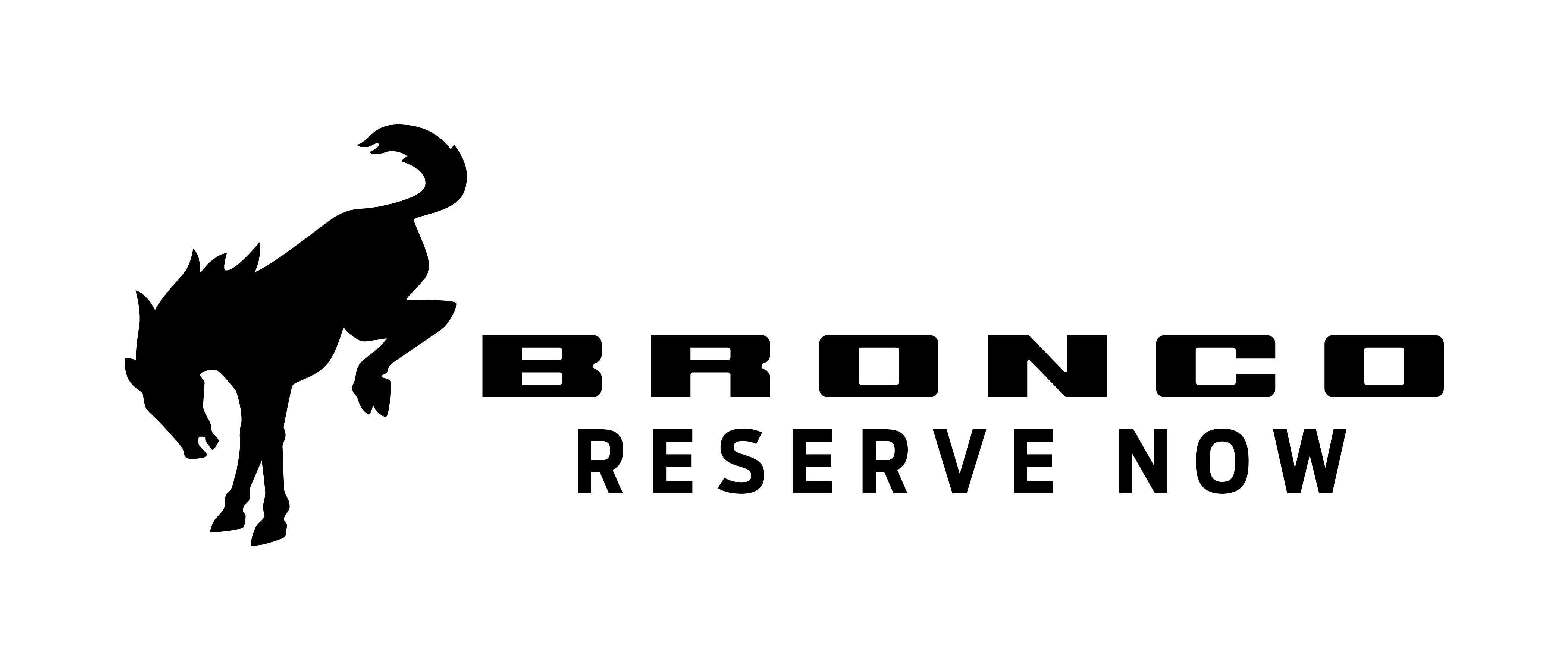 Bronco Reserve Now Header