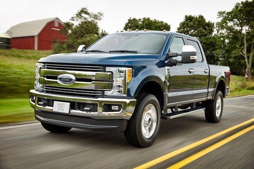 2017 Ford F-250 Named Best Three-Quarter Ton Pickup Truck