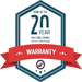 20 Year Warranty Logo