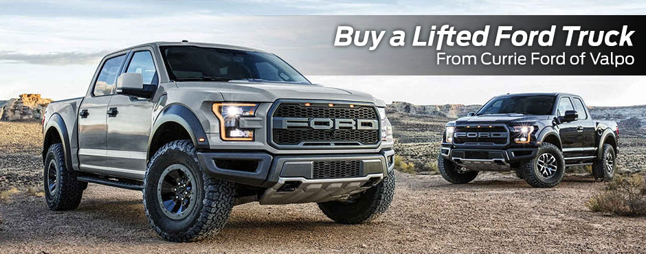 lifted ford trucks buy or lease a lifted ford in valparaiso in