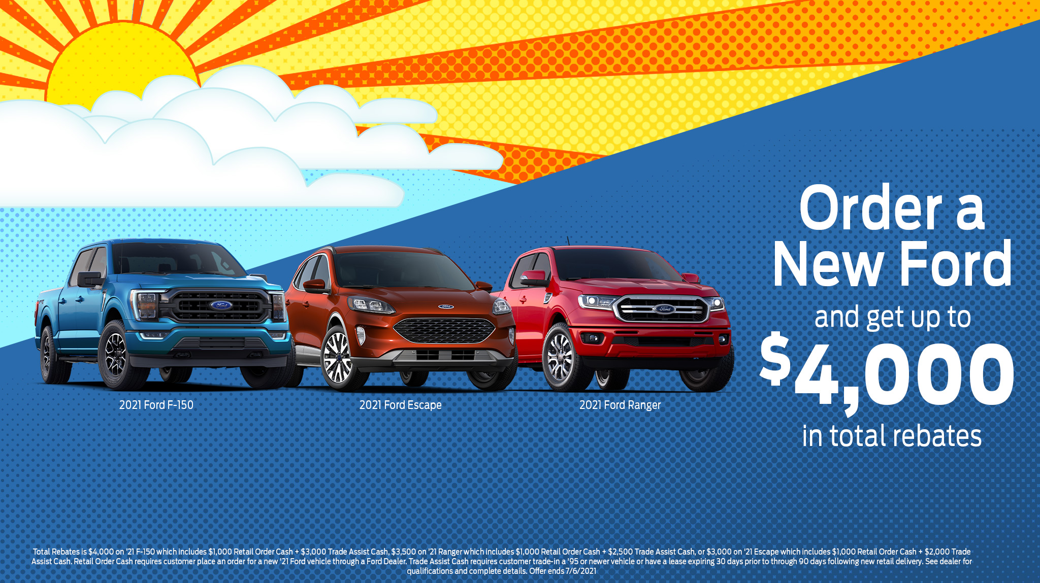 Order a new Ford - Special