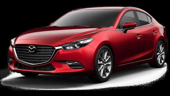 Red 2017 Mazda 3
