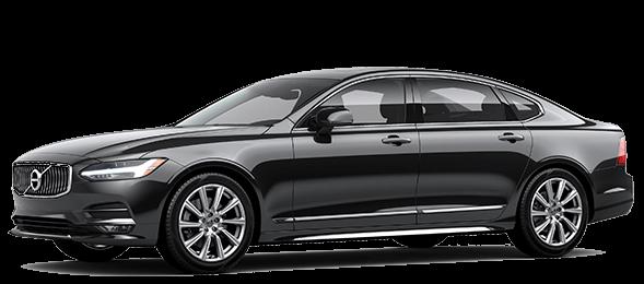 Black 2017 Volvo S90