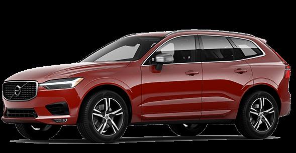 Red 2017 Volvo XC60