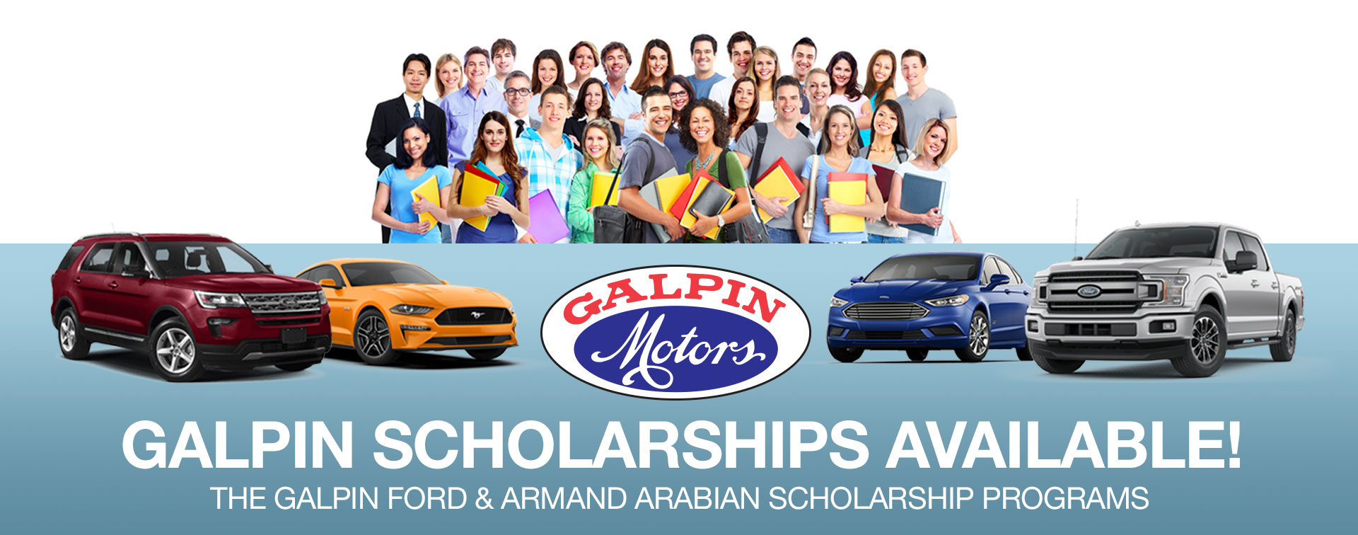 Galpin Scholarships Available Banner