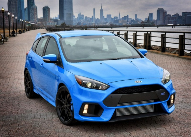 What S New For The 2016 Ford Focus Rs Near Los Angeles